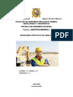 Gestion Minera Semana 9