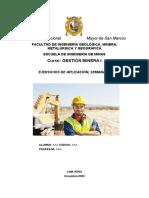 Gestion Minera Semana 10