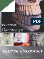 Forensic Odontology Dr Rizwan