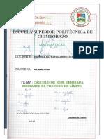 Guido_Gualaquiza_Matematica_CALCULO DE RON-DERIBADA MEDIANTE EL-PROCESO DE-LIMITE