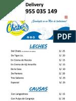 CARTA BARRA DEL CHATO