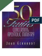 50 Truths Concerning Apostolic  - John Eckhardt-Spanish.pdf