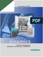 SINAMICS S120 SIMODRIVE Systemhandbuch Schaltschrankintegration 0907 Deu
