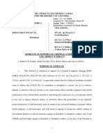 Sullivan Affidavit
