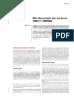 Obturation-provisoire