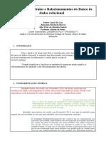 Paper 4º semestre Banco de dados relacional