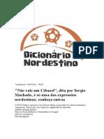 Dicionário Nordestinês