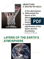 layers of the earths atmosphere