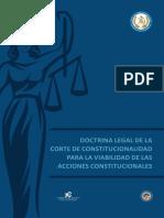 Doctrina legal de la Corte de Constitucionalidad