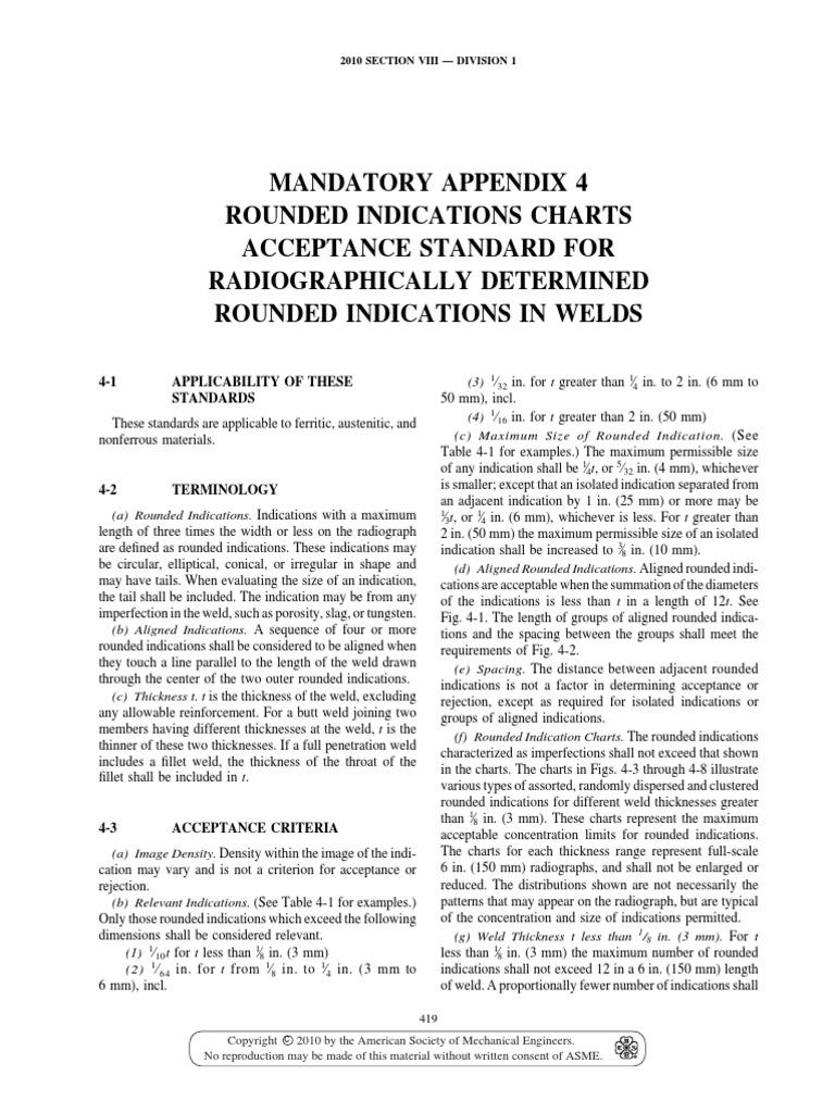 ASME Sec VIII Div 1 Ed 2010 471 | Welding | Mechanical Engineering
