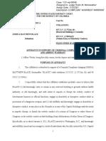 Joshua Mathew Black Affidavit January 14, 2021