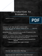 Introduction to Economics Lesson 1.pptx