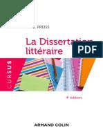 La Dissertation littéraire - 4e éd. (Cursus) (French Edition) by Axel Preiss (z-lib.org)