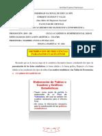 SEMANA 2 - TABLAS DE DISTRIBUCIÓN DE FRECUENCIAS Y GRÁFICOS ESTADÍSTICOS