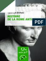 (Que sais-je _) Yann Le Bohec - Histoire de la Rome antique-Presses Universitaires de France (2017).pdf