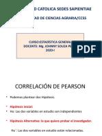 COEFICIENTE DE PEARSON