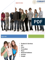 Module 2- Marketing Mix  of  Services