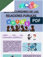 LINEA DE TIEMPO RELACIONES PUBLICAS - JUVIRIC GUERRA