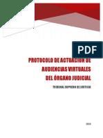 Protocolo Audiencias Virtuales ÓRGANO JUDICIAL OFICIAL Bolivia