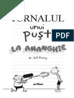 Jurnalul unui pusti Vol.15 La ananghie - Jeff Kinney