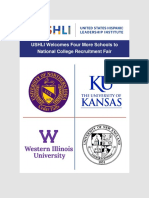 USHLI Welcomes Four More Schools to National College Recruitment Fair