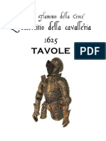 DALLA CROCE Flaminio L Essercitio Della Cavalleria TAVOLE 1625