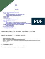 10 - Moduli, script, parametri da riga di comando, packages