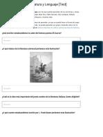 100 Preguntas de Literatura y Lenguaje [Test] - Lifeder
