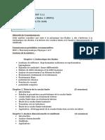 1 programme MDF2