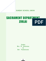 MSSU - SACRAMENT DEPARTMENT ZIRLAI