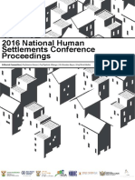 National Human Settlements Conference Proceedings - 2016