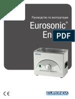 Ультразвуковая мойка Eurosonic_Energy