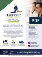 Leadership Chester County Brochure