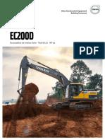 Catálogo-Técnico-Escavadeira-de-Esteiras-Volvo-EC200D