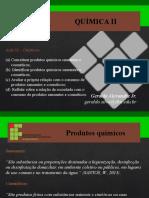 AULA 02 - PRODUTOS QUIMICOS