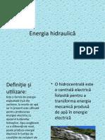 Energia Hidraulică