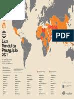 Mapa de Perseguição Religiosa 2021