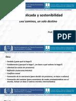 4. Ética aplicada y sostenibilidad - Blanca Emmi