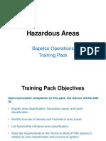 Hazardous Area - Training Pack