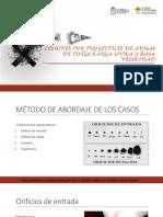 LESIONES POR PROYECTILES DE ARMAS DE FUEGO CARGA ÚNICA Y BAJA VELOCIDAD