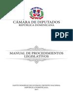 MANUAL DE PROCEDIMIENTOS LEGISLATIVOS