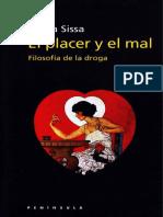 Sissa Giula - El Placer Y El Mal - Filosofia de La Droga