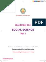 10th Std Social Science Book in English- www.tnpscjob.com