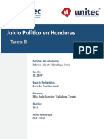 T#8 Juicio Politico en Honduras