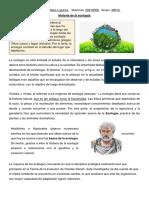 Gestion Ambiental- Historia de la ecologia.