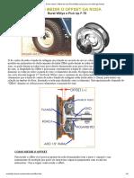 Como medir o Offset da roda Rural Willys Jeep pneu aro bitola geometria