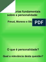 Trs teorias fundamentais sobre a personalidade