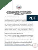 PROYECTO DE LEY QUE MODIFICA LA LEY N°19.884 ORGÁNICA CONSTITUCIONAL SOBRE TRANSPARENCIA, LÍMITE Y CONTROL DEL GASTO ELECTORAL, LIMITANDO EL GASTO ELECTORAL DE LAS AUTORIDADES QUE INDICA.