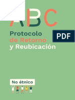 ABC Protocolo de Retornos y Reubicaciones