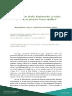 Ar limpo – um direito fundamental de todas as crianças para um futuro saudável - FMUSP